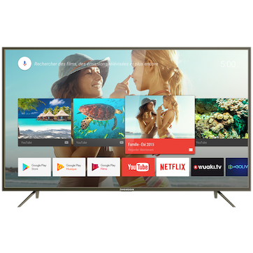 34dc6ef533587 UHD television by Thomson, 4K TV with Androïd