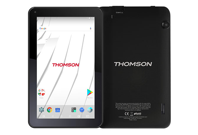 tablette android 7 39 39 16 go thomson. Black Bedroom Furniture Sets. Home Design Ideas