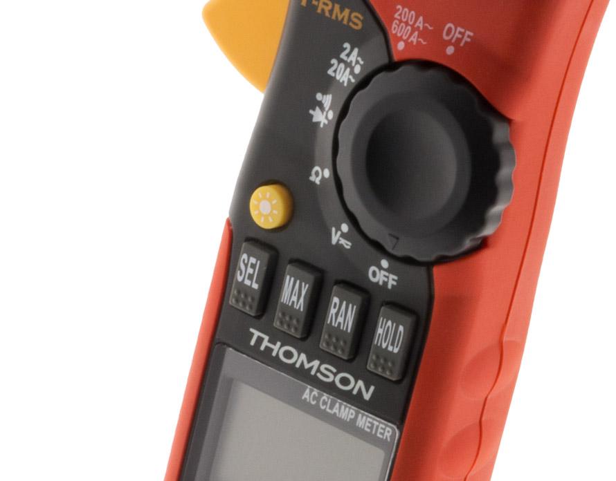 Zoom sur les fonctions de l'amperemetre